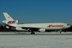 Reinhard Zinabold - C-GKFB - McDonnell Douglas DC-10-30/F - PUROLATOR (operated by Kelowna Flightcraft Air Charter) arriving at Hamilt...