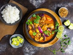 This chicken massaman curry brings bold spices, flavors, and colors...without an unbearable level of heat.