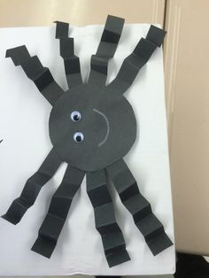 Little Miss Muffet spider craft