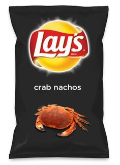 Wouldn't crab nachos be yummy as a chip? Lay's Do Us A Flavor is back, and the search is on for the yummiest flavor idea. Create a flavor, choose a chip and you could win $1 million! https://www.dousaflavor.com See Rules.