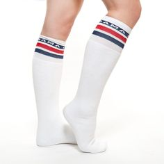 Our Obama Tube Socks are a fun and stylish way to show off your support. Made in the USA.