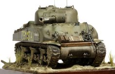 M4 Sherman 1/35 Scale Model