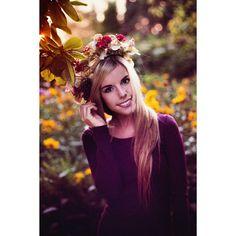 Instagram Beauty: @colouroflina <3 #flowerpower #shooting #girl #flower #garden