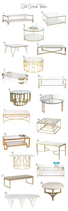 Metal coffee tables gold cocktail table - - - I so wanted one for my living room Table Furniture, Home Furniture, Furniture Design, Bedroom Furniture, Furniture Stores, Bedroom Decor, Furniture Ideas, Cocktail Tables, Home Decor Inspiration