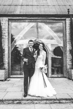 Cripps Barn Wedding Photography - Exterior Garden Photo