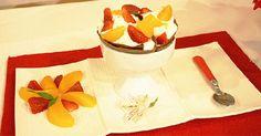 Crepas de chocolate con fruta
