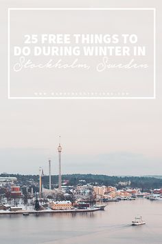 25 free things to do during winter in Stockholm. Photographer: Wanderlust by Jona