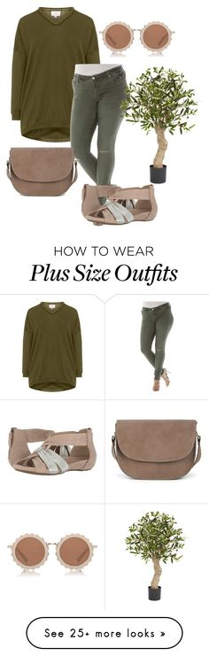 """""""plus size shirley"""" by aleger-1 on Polyvore featuring Slink Jeans, House of Holland, Earth, Sole Society and plus size clothing"""