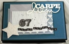 Carte d'anniversaire by Scrapatine
