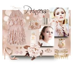 """Princess"" by classicstyle4u ❤ liked on Polyvore featuring Balmain, Aquazzura, River Island, Michael Kors, Illume, Bliss Diamond, Tory Burch and Ilia"
