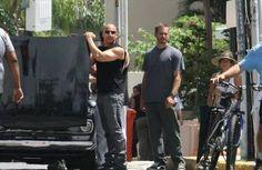 Paul on set of FF5