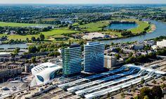 Arnhem's stunning new railway station raises city's profile