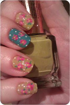vintage nails Vintage Nails, Creative Nails, My Nails, Nail Designs, Nail Polish, Nail Art, My Style, Crafts, Inspiration