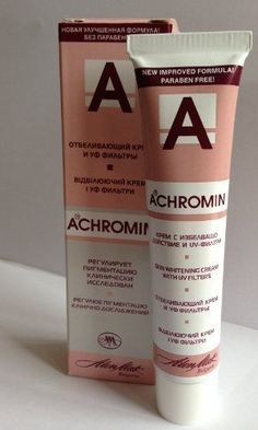 #Achromin #Whitening #Lightening #Face #Cream #45ml #Anti #Dark #Age #Spots #Freckles #Free #Shipping Effectively and reliably removes skin #dark #spots such as #freckles, #age #spots, post-pregnancy #spots, etc. The exceptional #whitening effect of this product is achieved through active components which block melanin overproduction. Reduces the pigment intensity of #spots, prevents the re-occurrence of pigmented #spots, whitens and evens the skin. https://skincare.boutiquec