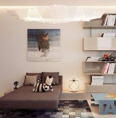 Apartment in Novgorod by Alexandra Fedorova  Source : FB House Idea