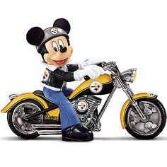 Disney NFL Figurine: Pittsburgh Steelers Headed For Victory