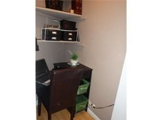Find this home on Realtor.com...made closet into a mini office..pretty cool place to hang and yet still be w/ family