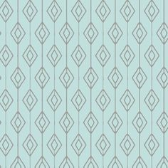 Hawthorne Threads - Winter Fawn - Diamond Curtain in Glacier Blue
