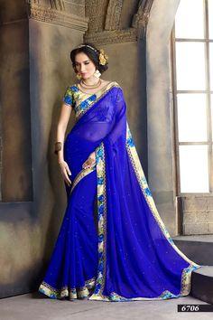 Indian Designer Sari Ethnic Traditional Pakistani Wedding Saree Bollywood 6700…