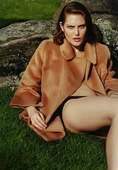 Catherine McNeil in Marc Jacobs FW13 photographed by Collier Schorr for i-D Magazine A/W 2013