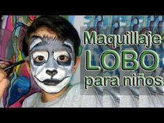 Download video: Maquillaje de lobo para niños