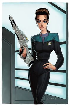 Jadzia Dax by Dennis Budd  so relevant to my interests