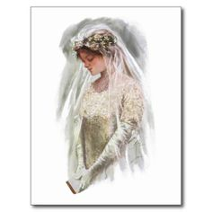 Vintage Victorian Bride with Bible Harrison Fisher Postcard today price drop and special promotion. Get The best buyThis Deals Vintage Victorian Bride with Bible Harrison Fisher Postcard Here a great deal. Victorian Bride, Edwardian Era, Victorian Era, Wedding Postcard, Wedding Cards, Wedding Veils, Wedding Shoot, Wedding Dresses, Gibson Girl