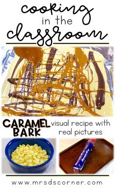 Caramel Bark recipe