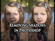 How to remove shadows on face in lightroom - YouTube #photographytutorials