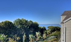 View of ocean and Catalina from front door