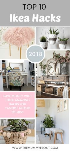 10 money Saving Ikea Hacks that you can do on a tiny budget. Home decor & diy projects are made easy with these awesome Ikea hack tutorials that you'll love Ikea Hacks, Ikea Hack Storage, Kitchen Storage Hacks, Ikea Hack Kitchen, Room Kitchen, Diy Storage, Diy Hacks, Storage Organization, Bedroom Hacks
