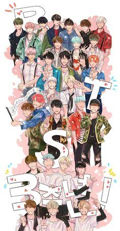 THIS IS SO BESUTIFUL #bts #fanart #3yearsofbts