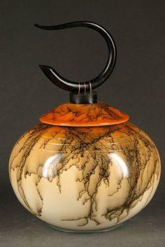 Raku Pottery by Ron Aubuchon