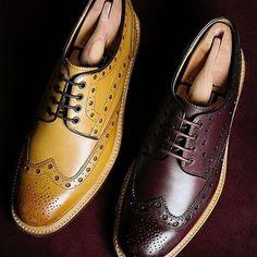 @OliverSweeney Hasketon #AW15 #footwear #brogues