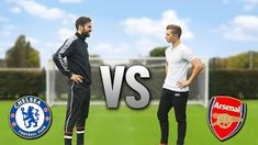 Facing Cesc Fabregas | ARSENAL v CHELSEA Football Challenge