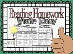 We all send weekly or nightly reading home with our students. This reading log is a fast and easy way for students to record their nightly reading. It also reinforces comprehension skills! Each day the student chooses a box and answers the comprehension question.