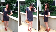 DIY Tee-Shirt Dress from Bunny Baubles