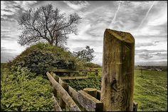 The Fence Post. by Pat Dalton..., via Flickr