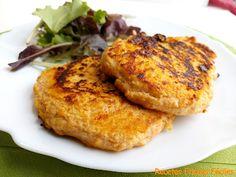 Hamburguesas de pollo y calabaza Recetas Fitness Fáciles Recetas Fitness Fáciles