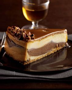 Shop gourmet desserts and cakes at Neiman Marcus. Layer yourself in sweets with these gourmet cakes, pies, and an endless selection of sweet treats. Gourmet Cakes, Köstliche Desserts, Delicious Desserts, Dessert Recipes, Yummy Food, Yummy Yummy, Turtle Cheesecake Recipes, Sweet Recipes, Yummy Recipes