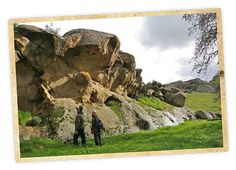 Vasco Caves Regional Preserve - the rocks are pregnant with raptors.