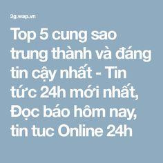 Top 5 cung sao trung thành và đáng tin cậy nhất - Tin tức 24h mới nhất, Đọc báo hôm nay, tin tuc Online 24h