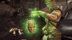 """MK 10 Ermac """"Head Out"""" Fatality Mortal Kombat Games, Up Game, History, Fictional Characters, Historia, Fantasy Characters"""