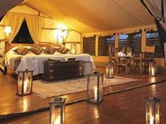 'Glamping' resort opens in northern Michigan
