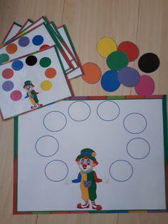 Învăţăm cu Arlechino: Culorile - Logorici Pom Poms, Montessori, Blog, Blogging