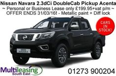 Nissan-NP300-Navara-2-3dCi-DoubleCab-4WD-Pickup-Acenta-LIMITED-STOCK-ENDS-31-3
