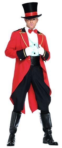 Deluxe Ringmaster Costume - Circus Costumes