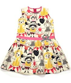 Circus Dress | Misha Lulu- OMG i am so in love with this dress, the girls would love this!