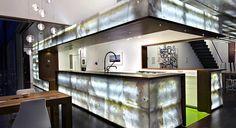 backlit onyx apartment