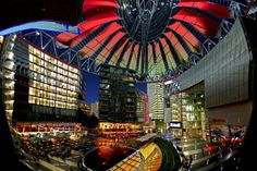 Sony Center Berlin  #city #sony #center #berlin #photography